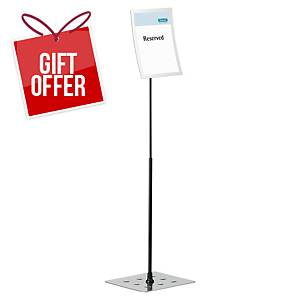 Durable Duraview Floor Stand A4