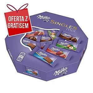Czekoladki MILKA Singles, 32 czekoladki pakowane osobno
