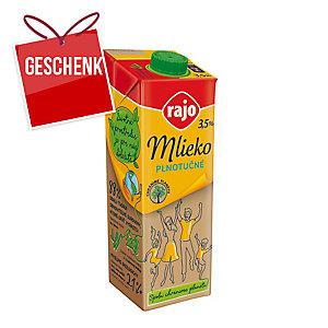 Rajo Milch, Fettgehalt: 3,5 %, mit Verschluss, 1 l