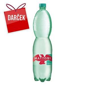 Minerálna voda Mattoni, jemne perlivá, 1,5 l, balenie 6 kusov
