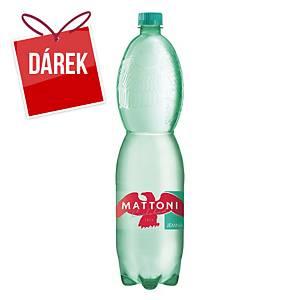 Minerální voda Mattoni, jemně perlivá, 1,5 l, 6 kusů