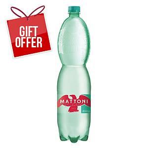 Mattoni Gently Sparkling Mineral Water, 1.5l, 6pcs