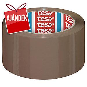 tesa® 4195 csomagolószalag, PP, 50 mm x 66 m, barna, 6 darab