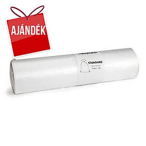 Alufix szemeteszsákok 23 mik., 120 l átlátszó, 25 db/tekercs