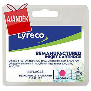 Lyreco kompatibilis nyomtatópatron HP933XL számára magenta 825 oldal