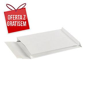 Koperty rozszerzane 250x353x38 białe, w opakowaniu 250 sztuk