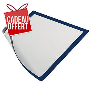 Paquet de 5 cadres d affichage magnétiques Duraframe Durable A4 bleu