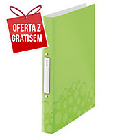 Segregator 2-ringowy LEITZ Active WOW SoftClick A4 zielony