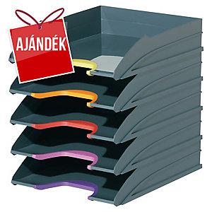 Durable Varicolor irattálca, 5 darab/csomag