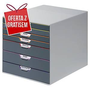 Moduł archiwizacyjny DURABLE Varicolor, 7 szuflad