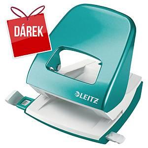 2-děrová děrovačka Leitz® 5008 NeXXt WOW, ledově modrá - 30 listů