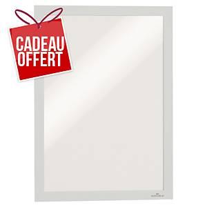 Cadre d affichage Durable Duraframe - A4 - adhésif - blanc - paquet de 2