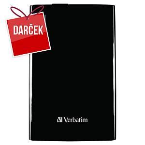 Prenosný USB hard disk Verbatim USB 3.0 2,5 , kapacita 2 TB, čierny