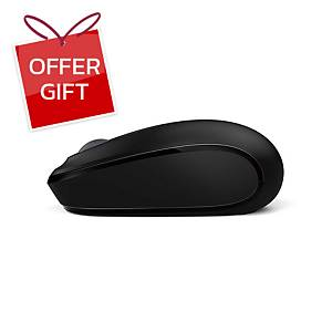 MICROSOFT 1850 WIRELESS MOBILE MOUSE BLACK