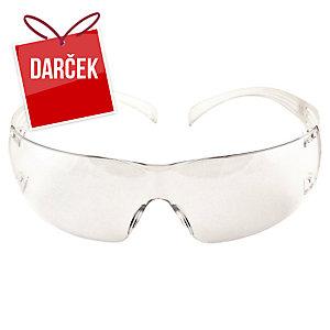 3M SecureFit SF201AF Ochranné okuliare, číre