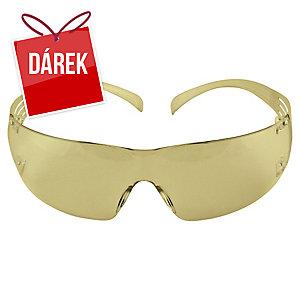 Brýle ochranné 3M Securefit SF201AF 3M, jantarově žluté