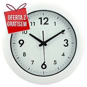 Zegar ścienny Alba Easy Time, biały