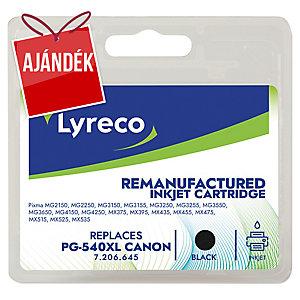 Lyreco kompatibilis nyomtatópatron Canon PG-540 XL számára fekete 21 ml