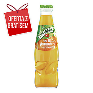 Sok pomarańczowy TYMBARK, zgrzewka 15 butelek x 0,2 l
