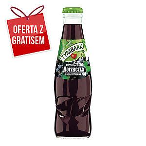 Nektar czarna porzeczka TYMBARK, zgrzewka 15 butelek x 0,2 l