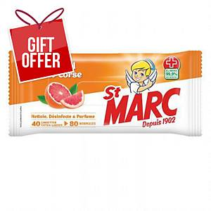 BX40 ST MARC X-LARGE WIPE SDC SOAP