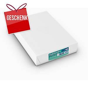 Kopierpapier Evercopy Premium A4, 100 g/m2, weiss, Pack à 500 Blatt