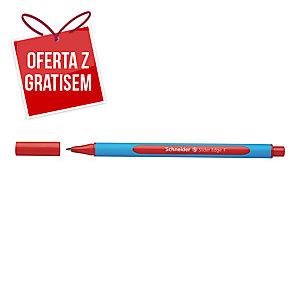 Długopis SCHNEIDER Slider Edge, XB, czerwony