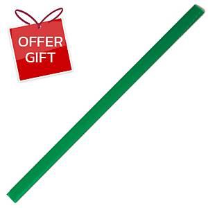 ORCA 301 Slide Lock Binder 5mm Green - Pack of 12