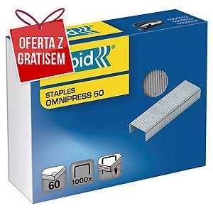 Zszywki RAPID Omnipress 60, w opakowaniu 1000 sztuk