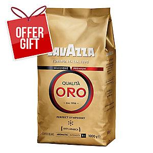 LAVAZZA QUALITA ORO COFFE BEANS 1KG