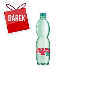 Minerální voda Mattoni, jemně perlivá, 0,5 l, 12 kusů