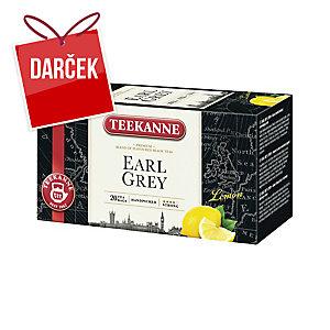 Čaj Teekanne Earl Grey s citrónom a vitamínom C, 20 vrecúšok à 1,65 g