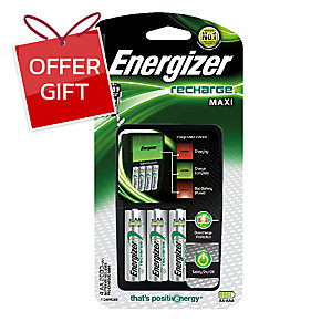 ENERGIZER 639838 PRO CHARGER+4AA 2000MA 240VAC