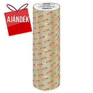 tesa® 4195 csomagolószalag, PP, 50 mm x 66 m, átlátszó, 6 darab