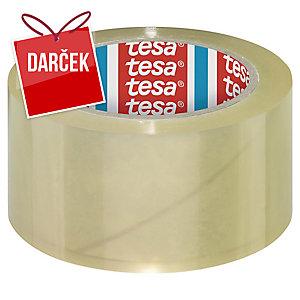 Baliace PP pásky tesa® 4195, 50 mm x 66 m, transparentné, 6 kusov
