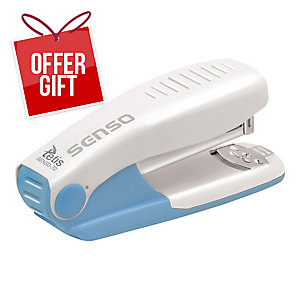 SENSO MINI STAPLER 25SHT BLUE