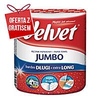 Ręcznik kuchenny VELVET Jumbo, biały, 1 rolka