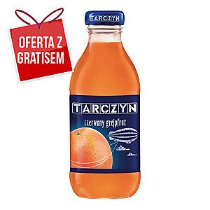 Nektar czerwony grejpfrut TARCZYN, zgrzewka 15 butelek x 0,3 l