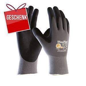 Schutzhandschuhe ATG MaxiFlex Ultimate 34-874, Typ EN388 4131, Gr. 9