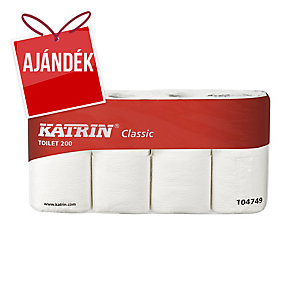 Katrin Classic toalettpapír, fehér, 2-rétegű, 40 tekercs/csomag