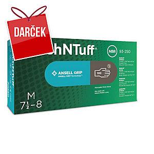 Jednorazové nitrilové rukavice Ansell TouchNTuff® 93-250, veľkosť 10, 100 kusov