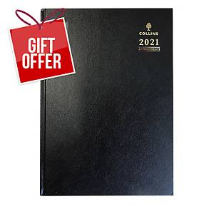 Collins A4 Appointment Diary Assorted Colours - Page A Day
