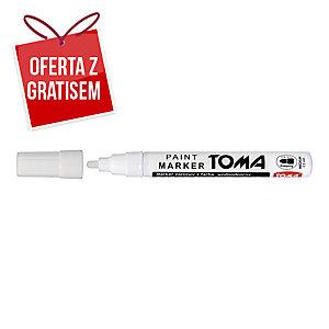 Marker olejowy TOMA TO-440, biały, 2,5 mm