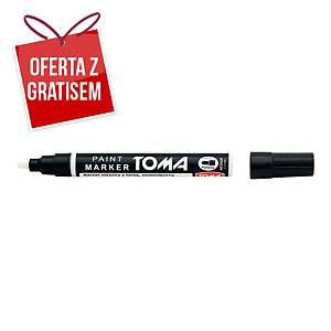 Marker olejowy TOMA TO-440, czarny, 2,5 mm