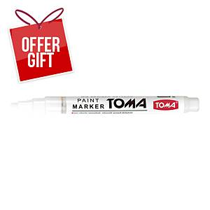 TOMA TO-441 PAINT MARKER WHITE