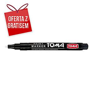 Marker olejowy TOMA TO-441, czarny, 1,5 mm