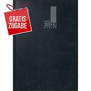 Buchkalender 2020 Brunnen 72921, 1 Monat / 2 Seiten, 148 x 210mm, schwarz