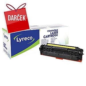 Toner Lyreco kompatibilný HP CF382A žltý do laserových tlačiarní