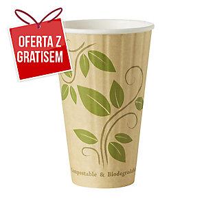 Kubeczki papierowe DUNI Eco, 350 ml, 35 sztuk