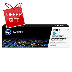 HP CF401A 201A TONER CARTRIDGE CYAN